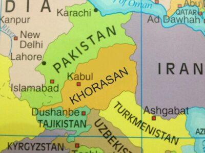 Khorasan map